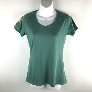 The-North-Face-Women-Endurance-Challenge-Running-T-Shirt-Repreve-Green-Size-S