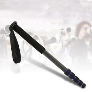 C-222-Carbon-Fiber-Outdoor-Telescopic-Monopod-Tripod-Cane-for-DSLR-Accessories