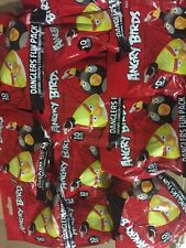 Angry Birds Danglers Fun Pack, LOT Of 10 Blind Figures With Stickers And More
