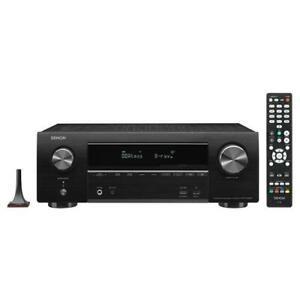 DENON-AVR-X1600H-sintoamplificatore-HOME-CINEMA-7-2-canali-4K-Ultra-HD-con-Audio