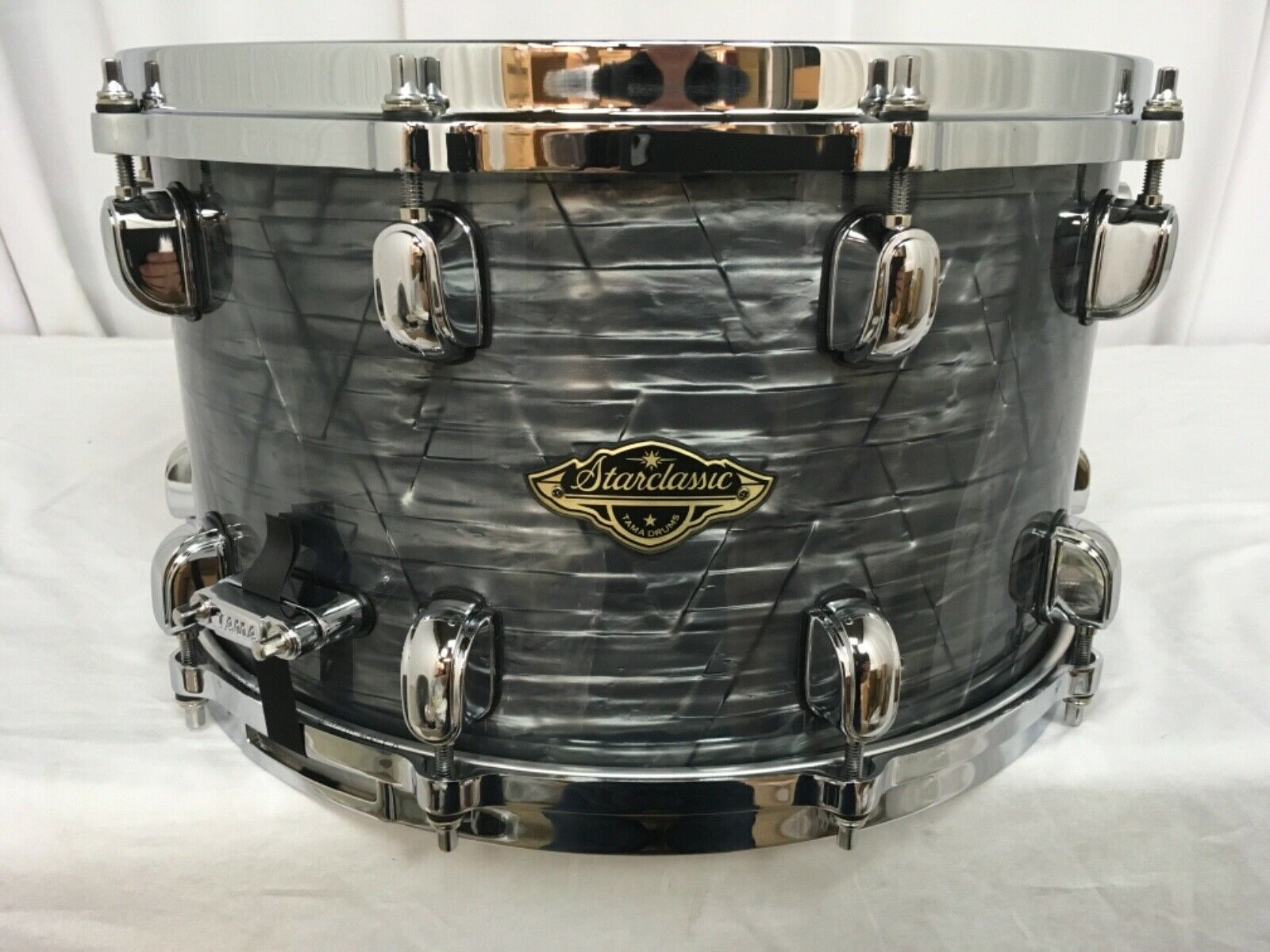 Tama Starclassic Walnut Birch 14  Dia. X 8  Deep Snare Drum Charcoal Onyx New