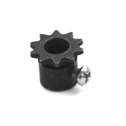 8mm Bohrung 10Zähne 10T Metall Pilot Motor Zahnrad Rollenketten AntriebRitzel ML