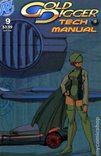 Gold Digger Tech Manual #9 VF 2009 Stock Image