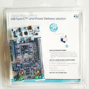 USB Type-C and Power Delivery Nucleo Pack with NUCLEO-F072RB