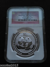 2009 China 1 oz Silver Panda BU (30th Anniversary)  - only 300,000 mintage!!!!