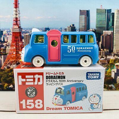 TOMICA DREAM 158 DORAEMON Bus 50th Anniversary TOMY 2020 New Diecast Car New