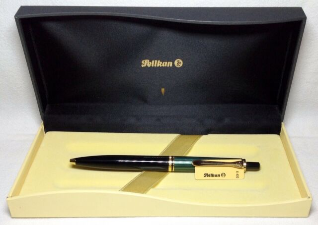 Gold Trim Pelikan Tradition K150 Series Ballpoint Pen 996603 New Black