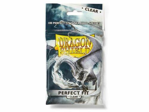 Dragon Shield Perfect Fit Clear 100 Standard Sleeves Kartenhhüllen Perfect size