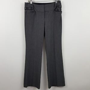 Express-Editor-Gray-Charcoal-Women-039-s-Career-Trouser-Dress-Pants-Sz-8-32-x-33