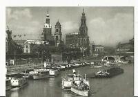 Postkarte Dresden Dampfschifflndeplatz