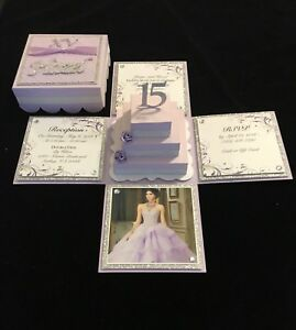 quinceaÑera sweet 16 wedding or any occasion exploding box