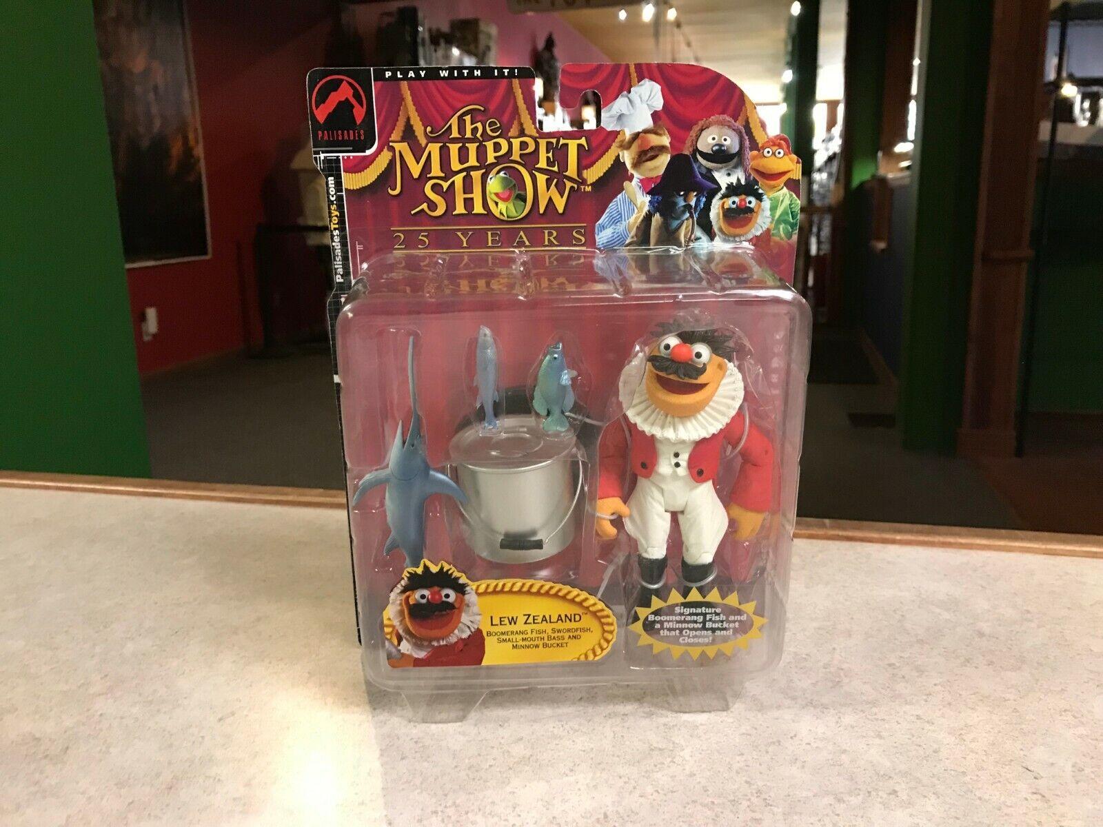 2002 Palisades Muppet Show Series Three 3 LEW ZEALAND Figure MOC