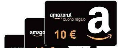 10€ Euro Amazon Gift Card Per Utilizzo Sconti Buono Regalo Voucher 10 Euro X 5€