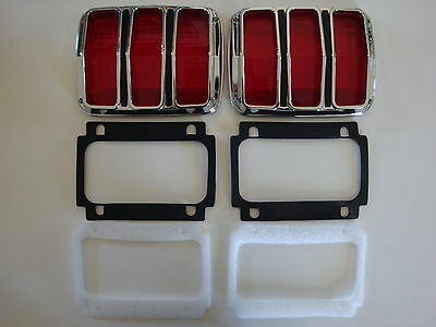 1964 1965 1966 Ford Mustang Complete Tail Light Kit - NEW!!