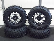 "POLARIS RZR 900 900XC 27"" QUADKING 14"" SHOCKER ATV TIRE & WHEEL KIT 519 BIGGHORN"