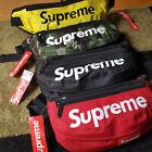 SUPREME SHOULDER BAG WAIST POCKET Red Black Military Camo Yellow 100% ORIGINAL