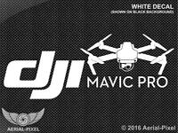 Dji Mavic Pro Window / Case Decal Sticker Fpv Quadcopter Uav Drone Phantom