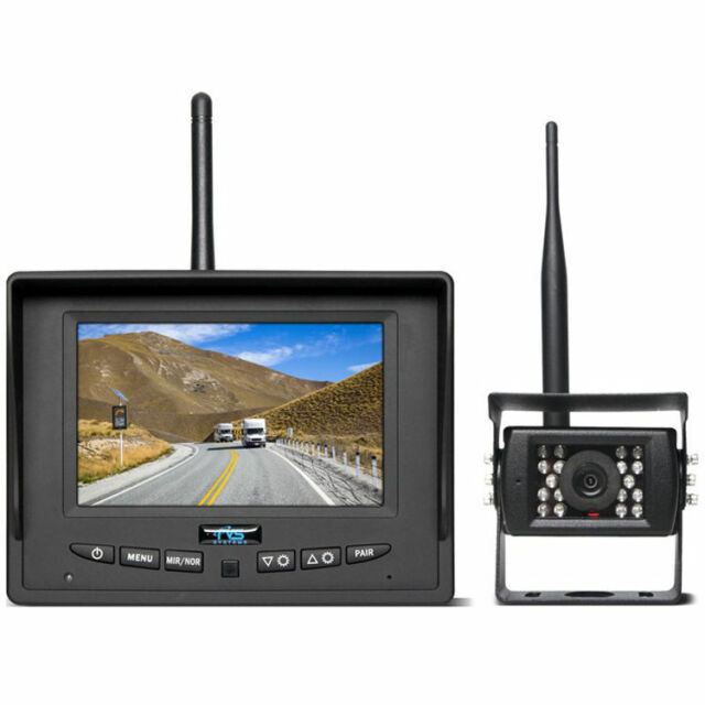 Rear View Safety RVS-155W Wireless Backup Camera System Instant Pair 5in Monitor