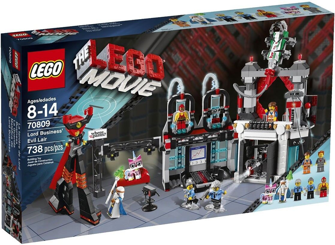 The  LEGO Movie Lord autoautobusiness' Evil Lair Set  70809  alta qualità