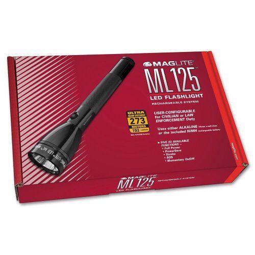 Mag Lite ML125-33014 LED 3Watt 3Watt LED Wiederaufladbar Taschenlampem schlanke Ausführung c05fcd