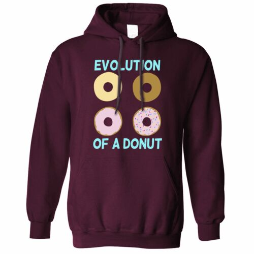 Details about  /Novelty Food Tote Bag The Evolution Of A Donut Doughnut Baking Eating Chef