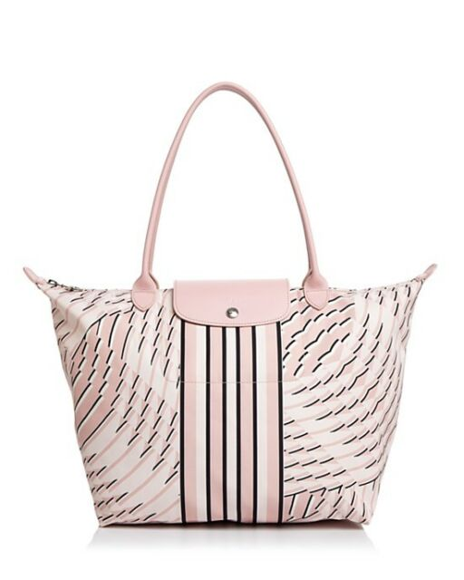 d191b5f312ef NEW LONGCHAMP Le Pliage Neo Pastel Petal Geometric Large Shoulder Tote  Handbag
