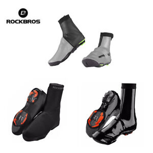ROCKBROS-Winter-Cycling-Shoe-Covers-Waterproof-Warm-Protector-Overshoes