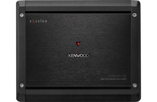 Kenwood eXcelon 5 Channel Refurbished Amplifier 500 Watts X801-5 Car Amp X8015
