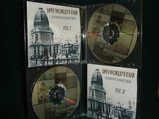 1893 Chicago Worlds Fair, Columbian Exposition-Vintage Books, Maps, Photographs
