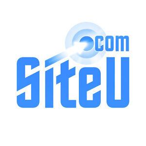SiteU.com Site U Premium Brandable 5 Letter Domain Name for Web Design & Hosting
