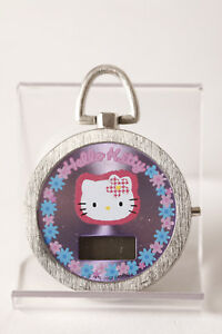Pieza-de-coleccion-sanio-Reloj-bolsillo-Hello-Kitty-digital-3-5cm-SIN-PILA