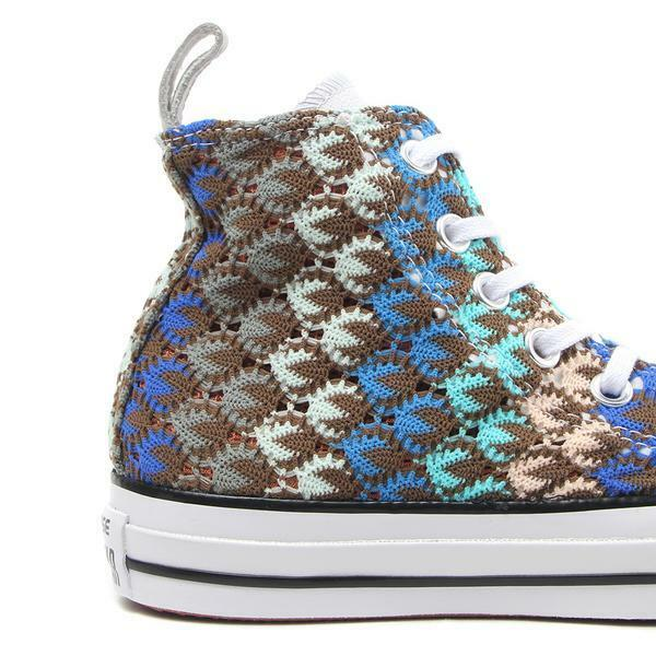CONVERSE or X MISSONI CTAS HI.. MULTI-COLOR.. WOMEN 9 or CONVERSE MEN 7.. FAST SHIPPING 3a12e0