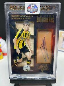 2016-17 Black Gold Soccer CHRISTIAN PULISIC Rookie Autograph Dortmund AUTO RC