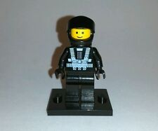 LEGO SPACE BLACKTRON MINIFIGURE (SOLID STUD) 1987 ish