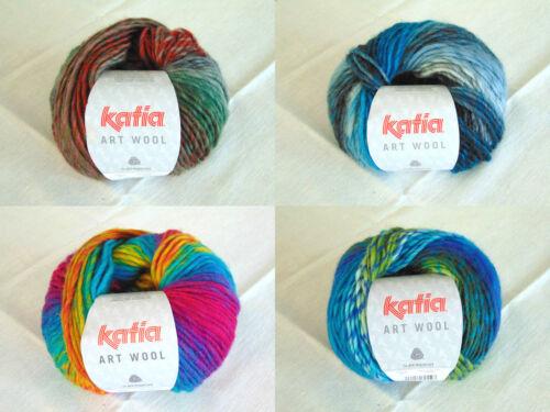 Garn Katia Art Wool Wolle