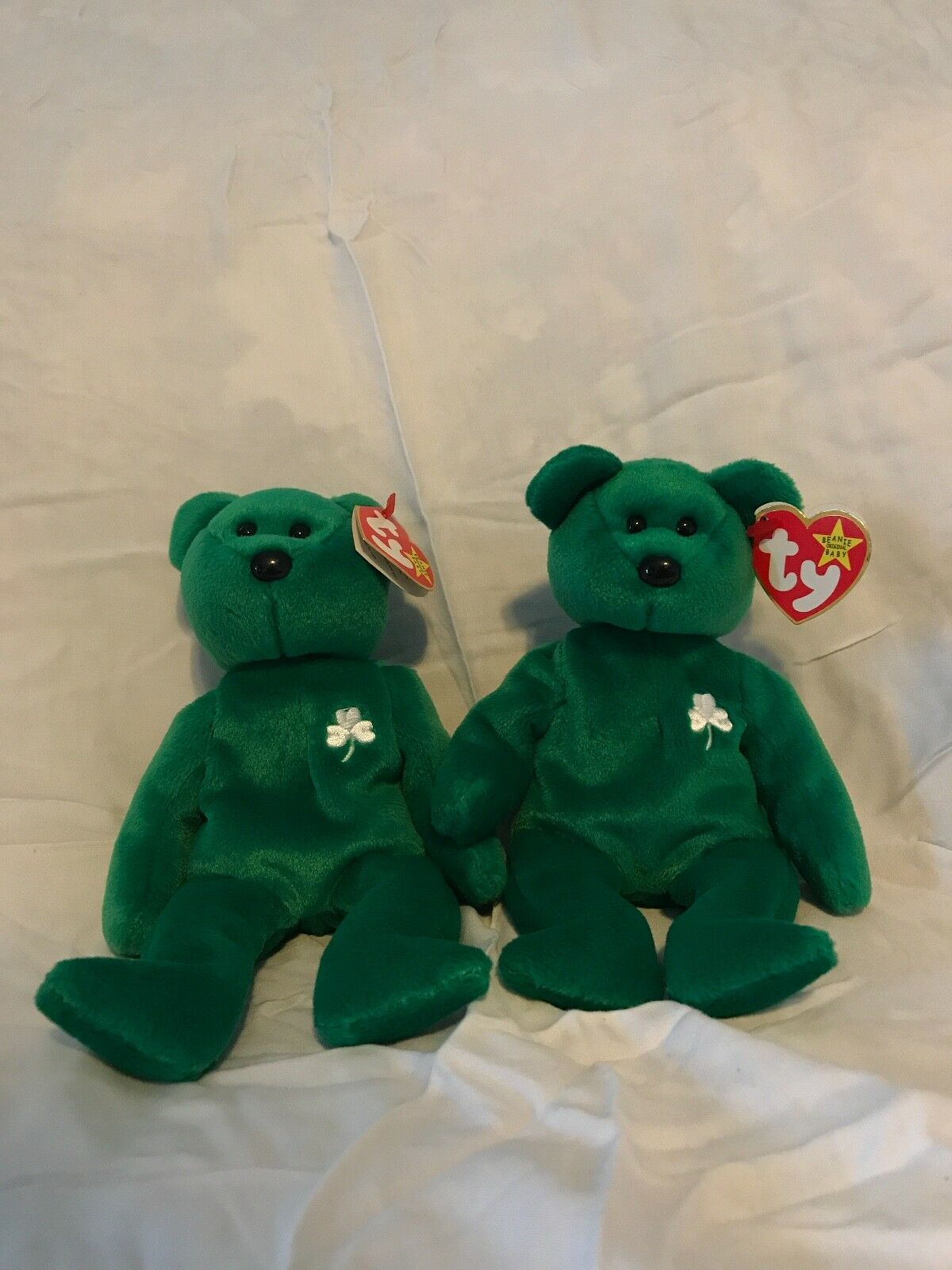 58a9c84925d TY Beanie Baby (Erin) the Bear BUNDLE 2 1 1997 for nppfyj9448 ...