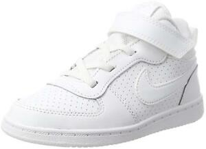 d30835073b01 Nike COURT BOROUGH MID (TDV) Toddlers White 870027-100 Casual Shoes ...
