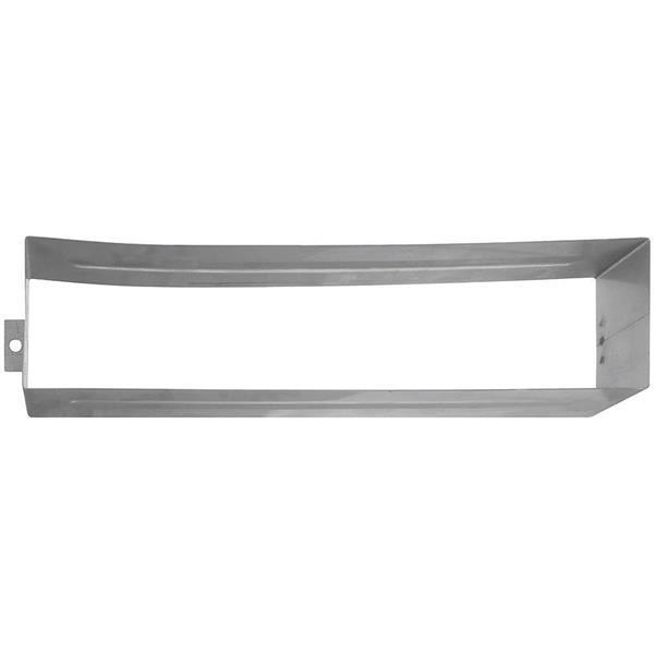 6 Pk Stainless Steel 2 5 8  H X 11 3 8  L X 2  Deep Mail Slot Sleeve N264978