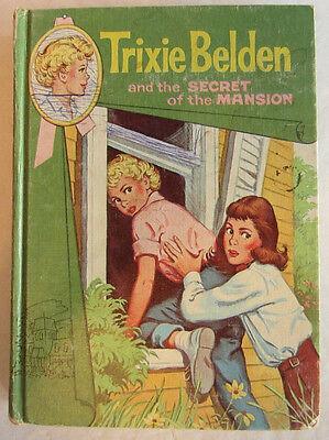 Trixie  Belden #1 SECRET OF THE MANSION Julie Campbell Cameo Hardcover