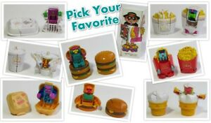 LOOSE-McDonald-039-s-1989-NEW-FOOD-CHANGEABLES-Food-ROBOT-Transformer-PICK-UR-TOY
