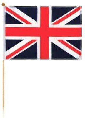Union Jack Hand Flag on a Stick Royal Wedding Party Decoration Souvenir Gift