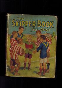 SKIPPER BOOK FOR BOYS 1935 vintage annual