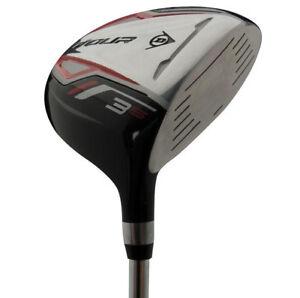 Dunlop-Tour-Herren-Golf-Holz-Wood-1-3-5-Driver-Golfschlaeger-Golfdriver-neu