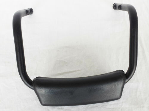 BRAND NEW ROYAL ENFIELD Bullet  Black PADDED BACK REST Rear @UK