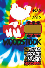 WOODSTOCK - 50TH ANNIVERSARY POSTER 24x36 - MUSIC 241440