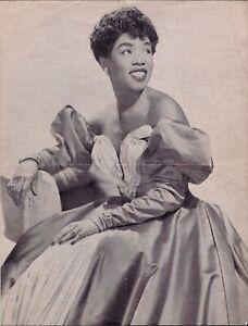 Sarah Vaughan Coleman Hawkins Illinois Jacquet 1954 RARE German jazz program