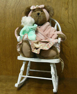 """Boyds Plush #919816 Momma Bearsley, with rocker 14"""" NEW/Tag From Retail Store"""
