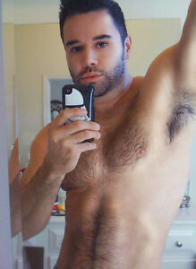 Armpit hairy male photo