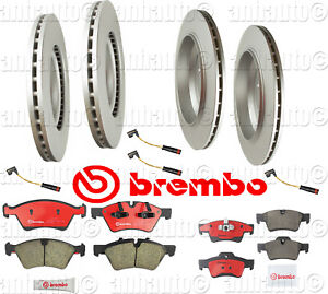For Mercedes W164 GL450 07-12 Rear Brake Rotors w// Pads Brake Kit OEM