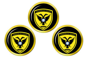 Hellenique-Armee-Grece-Marqueurs-de-Balles-de-Golf